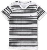 Calvin Klein Big Boys 8-20 Glitch Striped Short-Sleeve Tee