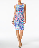 Charter Club Printed Shift Dress, Only at Macy's