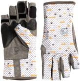 Buff Pro Series Angler Gloves - UPF 50+, Fingerless (For Men and Women)
