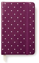 Kate Spade Take Note Polka Dot Notebook - Purple