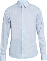 Valentino Striped cotton-poplin shirt
