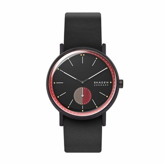 Skagen Men's Signatur Quartz Watch with Silicone Strap