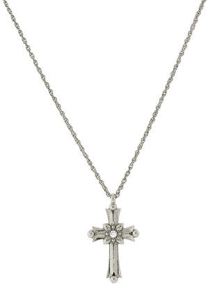 1928 Jewelry 1928 Religious Jewelry Religious Jewelry 16 Inch Rope Cross Pendant Necklace