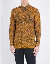 Vivienne Westwood Slim-fit Lace-print Cotton Shirt