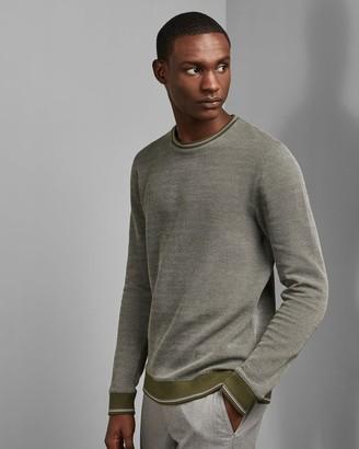 Ted Baker Diagonal Stripe Sweatshirt