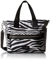 Marc Jacobs Zebra Printed Biker Baby Shoulder Bag
