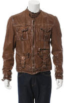 Dolce & Gabbana Utility Leather Jacket