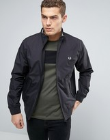 Fred Perry Brentham Harrington Jacket In Black
