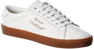Saint Laurent Sl/06 Signature Leather Sneaker