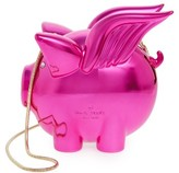 Kate Spade When Pigs Fly Frame Clutch - None