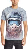 The Mountain Men's Powder Pig T-Shirt
