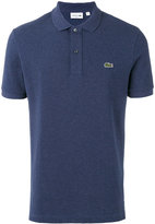 Lacoste logo patch polo shirt - men - Cotton - 5