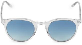 Barton Perreira Princeton 49MM Round Sunglasses