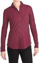 Woolrich Clarion Shirt - Crepe-Knit Cotton, Long Sleeve (For Women)