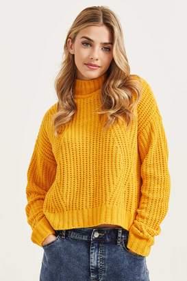 Ardene Chenille Mock Neck Sweater