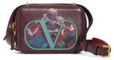 Valentino Garavani VSling U Print Calfskin Crossbody Bag