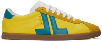 Lanvin Yellow JL Sneakers