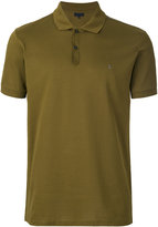 Lanvin embroidered L polo shirt - men - Cotton/Polyester - S