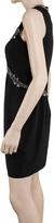 Max Studio Textured Silk Beaded Dress