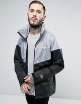 Columbia Inner Limits Hooded Jacket Waterproof Tricolour In Black 2 Tone