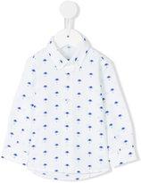Il Gufo palm tree button down shirt