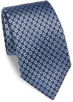 Charvet Small Star Silk Tie