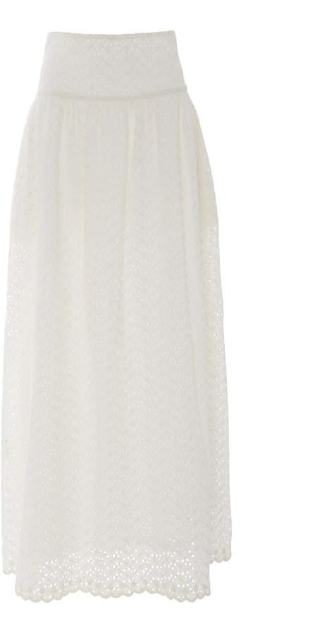 350f6d2c1 Cotton Maxi Skirt - ShopStyle