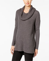 Style&Co. Style & Co Petite Cowl-Neck Tunic Sweater, Only at Macy's
