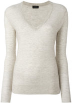 Joseph cashmere V-neck slim-fit jumper