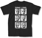 Marvel Guardians Of The Galaxy 2 Face Of Groot I Feel T-shirt (XXXL, Black)