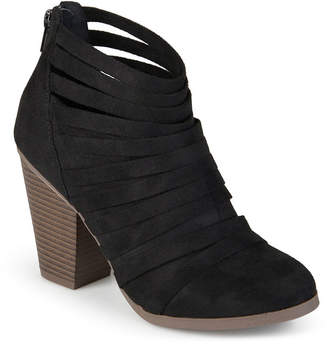 Journee Collection Womens Selena Strappy Ankle Booties