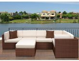 Atlantic Modena 6-piece Wicker Furniture Set