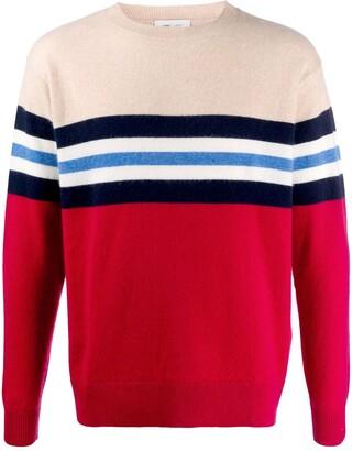 Leret Leret No. 10 striped cashmere jumper