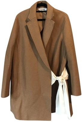 Thakoon Camel Wool Coats
