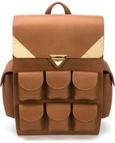 Valas - 'Voyager' backpack - men - Leather/Suede - One Size