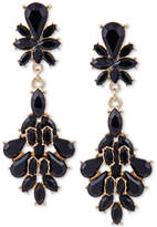 GUESS Colored Crystal Drop Earrings