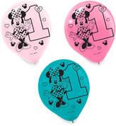 Disney Minnie Mouse 1st Birthday Balloons