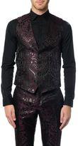 Dolce & Gabbana Jacquard Printed Three Piece Suit