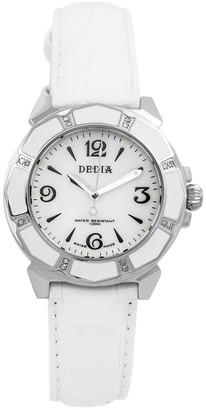 Dedia By Aquaswiss Women's Lily L Diamond Watch