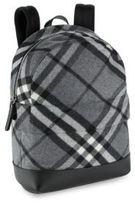 Burberry Kid's Nico Check Print Backpack