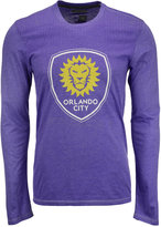 adidas Men's Long-Sleeve Orlando City SC Crest Authentic T-Shirt