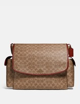 Coach Baby Messenger Bag In Signature Canvas