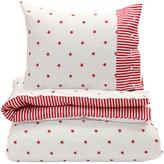 Gant Stars and Stripes Duvet Cover - Bright Red - Single - 140 x 200 cm