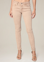 Bebe Clean Color Skinny Jeans