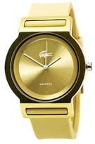 Lacoste Tokyo Womens Fashion Gold Watch Silicon Strap 2020048
