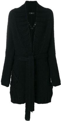 Yohji Yamamoto Pre-Owned Chunky Belted Coat