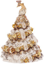 Jay Strongwater Peacock Christmas Tree Decoration - Gold