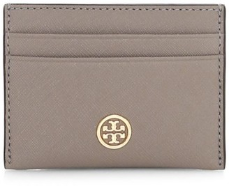 Tory Burch Robinson Leather Card Case