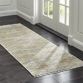 Crate & Barrel Romina Wool-Blend Rug Runner