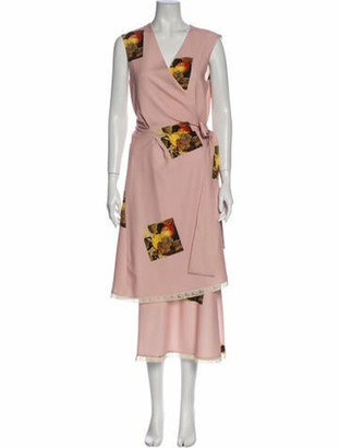 Au Jour Le Jour 2018 Long Dress Pink